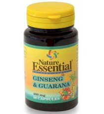 Ginseng + Guarana 400mg - 50 Cápsulas - Nature Essential