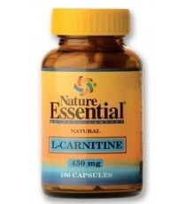L-Carnitina 450mg - 100 Capsulas - Nature Essential