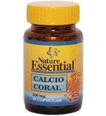 Calcio Coral 500mg - 50 Capsulas - Nature Essential