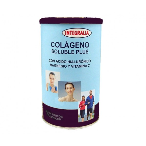 Colágeno Soluble Plus- Sabor Frutos del Bosque - 360g - Integralia
