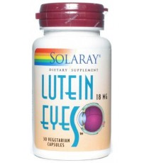Lutein Eyes - 30 Cápsulas - Solaray
