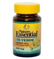 Té Verde 400mg - 50 Cápsulas - Nature Essential
