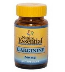 Arginina 500mg - 50 Capsulas - Nature Essential
