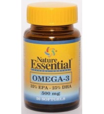 Omega 3 500mg - 50 Perlas - Nature Essential