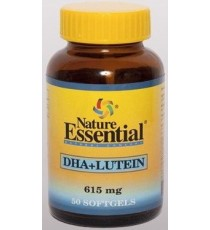 DHA + Luteina 615mg - 50 Perlas - Nature Essential