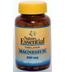 Magnesio (Quelado) 300mg - 250 Comprimidos - Nature Essential