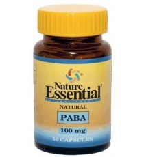 Paba 100mg - 50 Cápsulas - Nature Essential