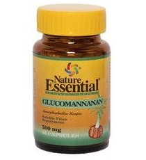 Glucomanana 500mg - 50 Capsulas - Nature Essential