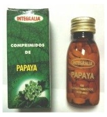Papaya - 60 Comprimidos - Integralia
