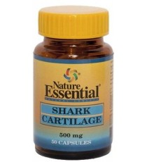 Cartílago de Tiburón 500mg - 50 Cápsulas - Nature Essential