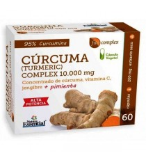 Cúrcuma Complex - 10000mg - 60 Capsulas - Nature Essential