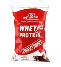 Whey Gold Protein - NutriSport - 500 g - Chocolate