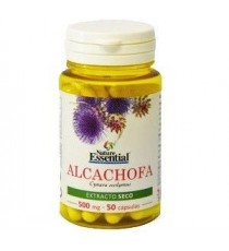 Alcachofa - Extracto Seco - 500mg - 50 capsulas - Nature Essential