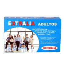 Extralia Adultos - Jalea Real - Integralia - 20 ampollas