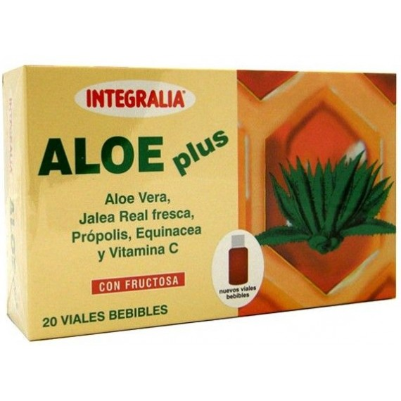 Aloe Plus Bebible - 20 Viales - Integralia