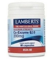 Co Q10 200mg - 60 Capsulas - Lamberts