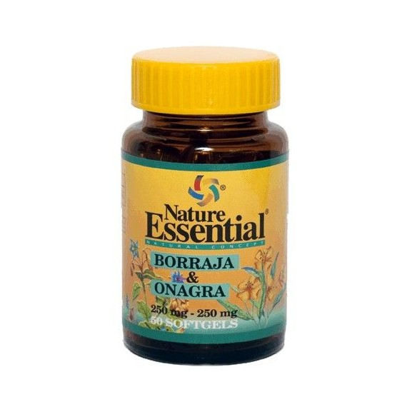 Borraja + Onagra 500mg - 50 Perlas - Nature Essential