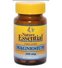 Magnesio (Quelado) 300mg - 50 Comprimidos - Nature Essential