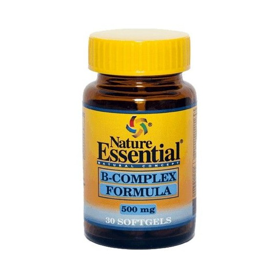 Vitamina B Complex 500mg - 30 Perlas - Nature Essential