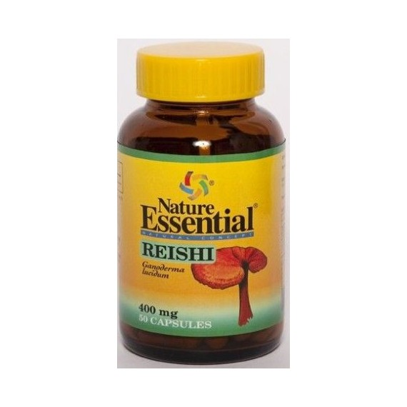 Reishi ( Micelio) 400mg - 50 Cápsulas - Nature Essential