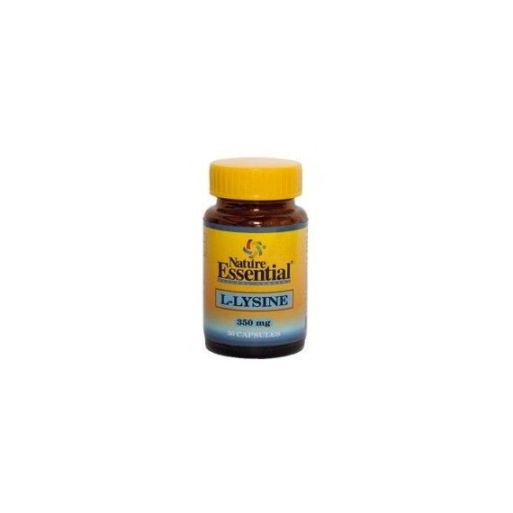 Lisina 350mg - 50 Capsulas - Nature Essential