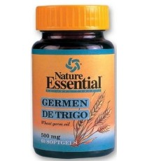 Aceite de Germen de Trigo 500mg - 60 Perlas - Nature Essential