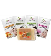 Jabon Natural Manos y Set Intensivo de Cuidado Facial Armonia