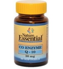 Co-Enzima Q10 30mg - 60 Perlas - Nature Essential