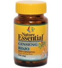 Ginseng Rojo 500mg - 50 Cápsulas - Nature Essential