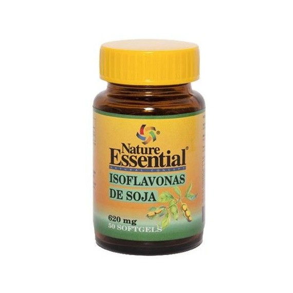 Isoflavonas de Soja 620 mg - 50 Perlas - Nature Essential