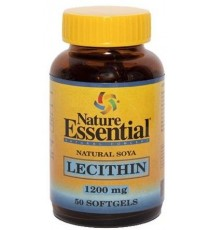 Lecitina de Soja 1200 mg - 50 Perlas - Nature Essential