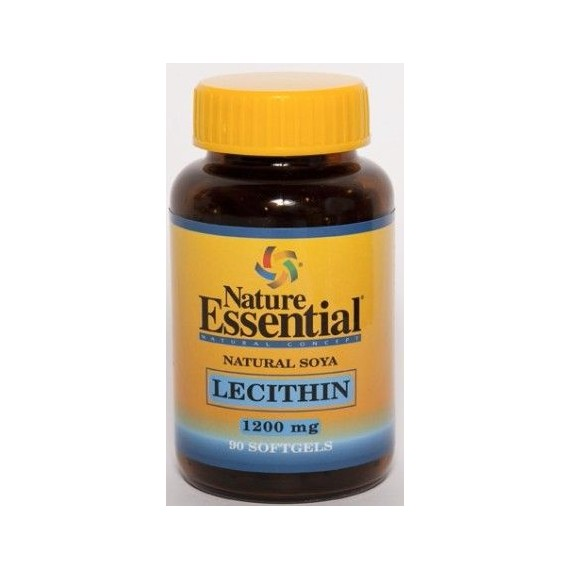 Lecitina de Soja 1200 mg - 90 Perlas - Nature Essential